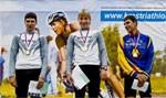 В Красноярске прошел шестой этап Кубка России по триатлону