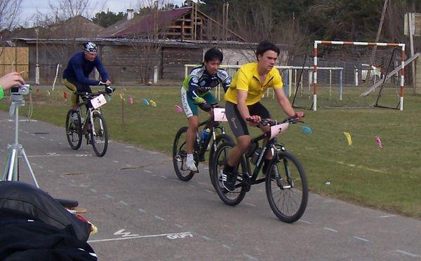 Третий этап открытого чемпионата г.Минусинска по велоспорту : Дуатлон МТБ. 9 мая 2010 г.