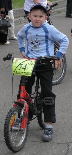 Отчет о детском первенстве по велоспорту г.Железногорска