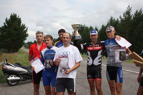 9-й этап открытого чемпионата г.Минусинска по велоспорту: командная гонка