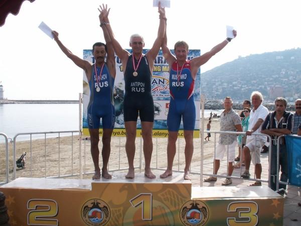Плавательный марафон в турции завершен с медалями