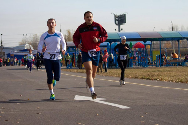 Понаморенко и Алексеев на дистанции