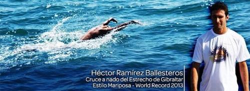Испанский пловец покорил Гибралтар