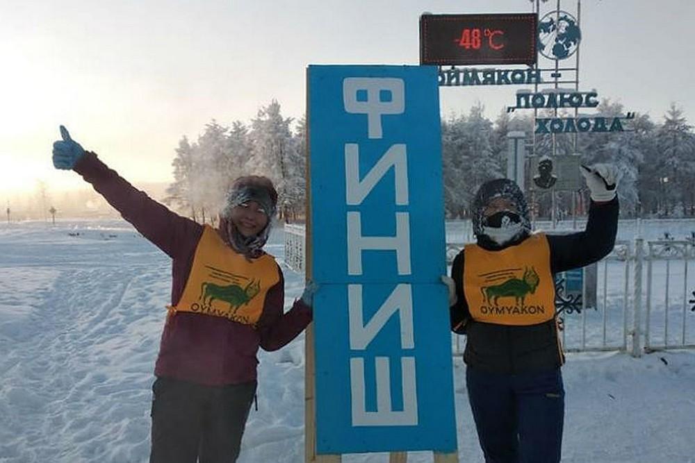 Житель Якутии ради первого места в марафоне в - 52 градуса преодолел 38 километров