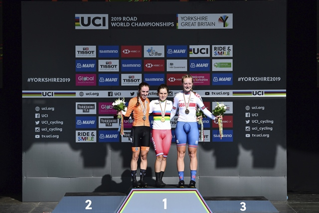 Айгуль Гареева и Антонио Тибери – через тернии к радужной майке чемпионов мира по велоспорту-2019 в индивидуальной гонке на время среди юниоров