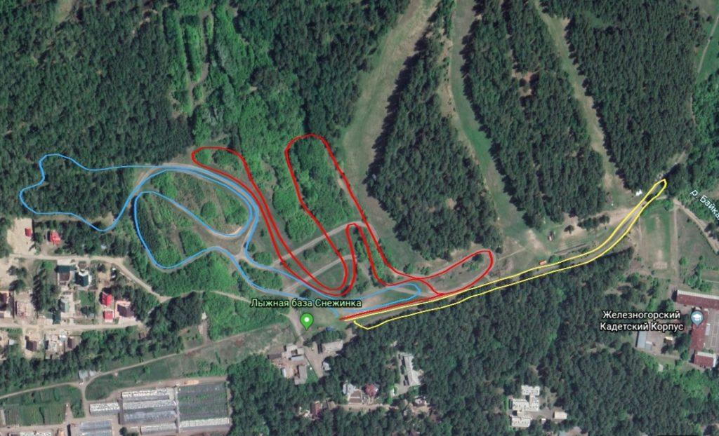 Открытый чемпионат Железногорска по зимнему триатлону Winter race